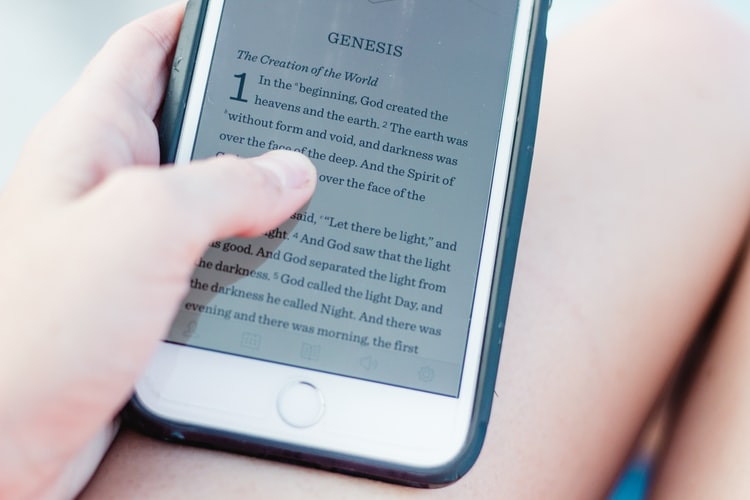 ebook on iPhone