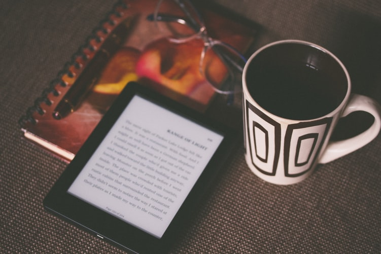 Coffee and eBook