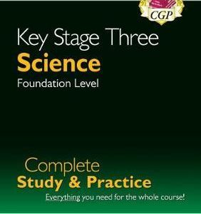 New KS3 Science Complete Revision & Practice - Foundation (with Online Edition)