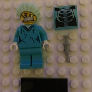 Lego Series 6 Surgeon NEW RARE GENUINE MINIFIGURE