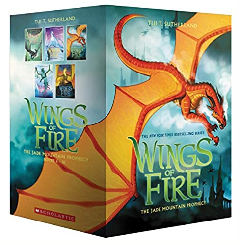 Wings of Fire Box Set, The Jade Mountain Prophecy (Books 6-10) Paperback