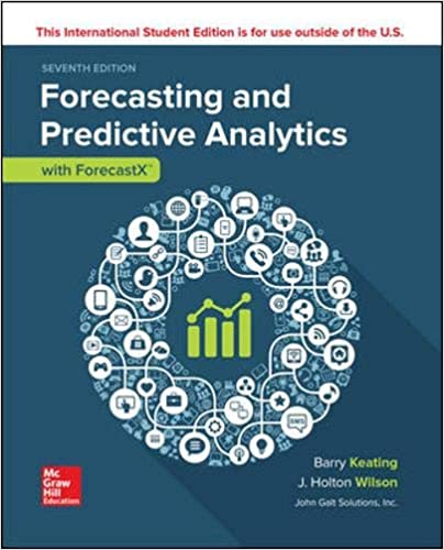 FORECASTING AND PREDICTIVE ANALYTICS WITH FORECAST X (TM) Paperback